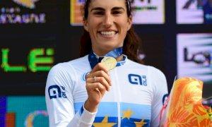 Ciclismo, Elisa Balsamo vince gli Europei Under 23 su strada