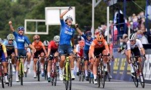 Ciclismo, la gioia di Elisa Balsamo dopo il titolo europeo Under 23: 'Medaglia di tutta la squadra'