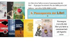 'Un libro tira l'altro': ecco i libri più letti e commentati del mese di agosto