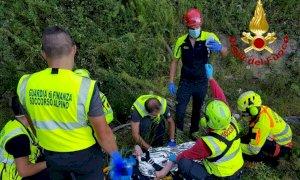 Ritrovata viva e cosciente dopo quattro giorni la donna dispersa a Roburent