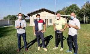 A Castellar il nuovo campo sportivo per i 'Primi calci' del Saluzzo