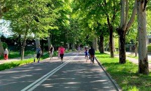 Nuova proroga per viale Angeli pedonale, rimarrà tale (almeno) fino all'11 ottobre
