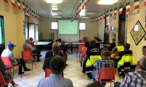 Protezione civile dell'ANA Cuneo: attivi 22 neoabilitati e una nuova squadra