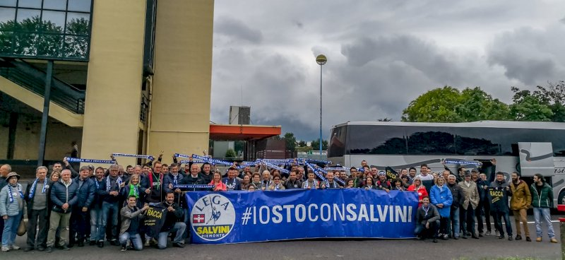 #IostoconSalvini, questo fine settimana la Lega in piazza nella Granda