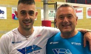 Volley, Michele Baranowicz si allena con il Vbc Synergy Mondovì
