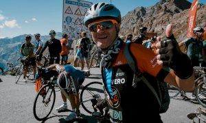 Circa 850 ciclisti hanno partecipato a 'L'Agnel' 2020