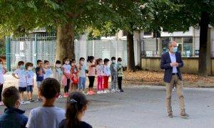 Primo giorno di scuola: il saluto del Sindaco di Bra (VIDEO)
