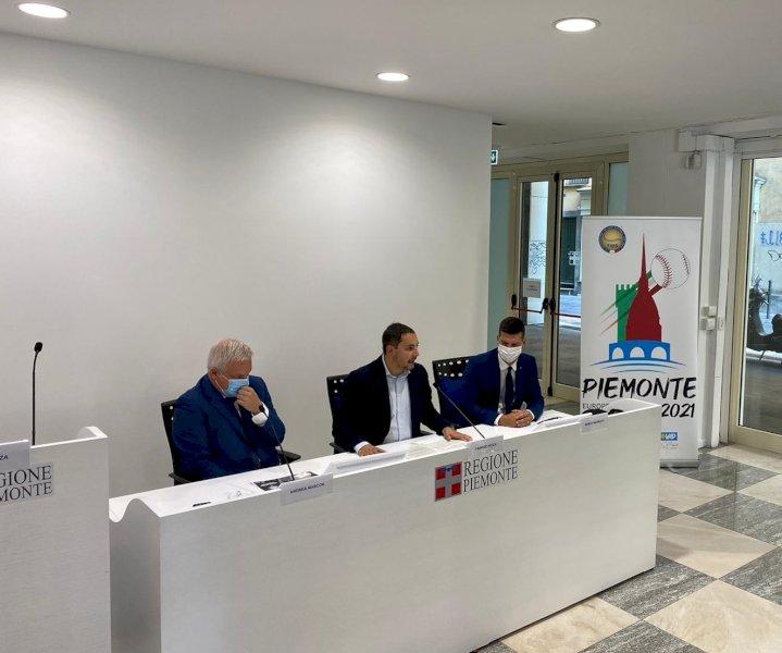 Il Piemonte pronto ad ospitare gli Europei di baseball nel 2021
