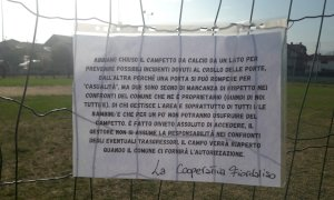 Borgo San Dalmazzo: porte danneggiate, chiuso il campo da calcetto del 'Tesoriere'