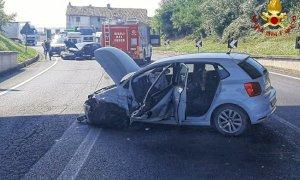 Due feriti in un incidente sulla tangenziale di Mondovì