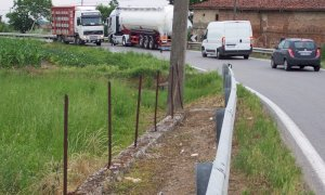 Via libera all'allargamento della provinciale 184 nel tratto Mellea-San Vittore, in zona aeroporto