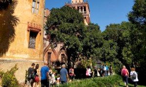 Seconda apertura straordinaria con visite guidate nel Parco del Castello del Roccolo a Busca