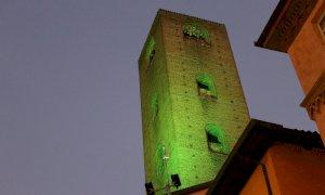 Alba illumina di verde le torri cittadine per la XIII Giornata Nazionale della Sla