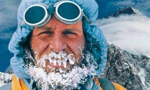 Kurt Diemberger sale a Valloriate per raccontare il suo K2, la montagna del sogno e del destino