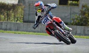 Motociclismo, Kevin Negri è secondo nel campionato europeo Supermoto