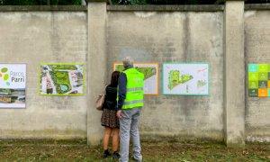 Cuneo, il cantiere del parco Parri sarà a misura d'umarell: i cittadini potranno seguire gli operai da un belvedere