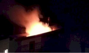 Fossano, incendio in una cascina in frazione Loreto: morto un vitello