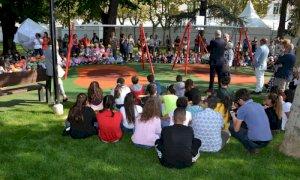 Bra: un autunno animato nei giardini di piazza Roma