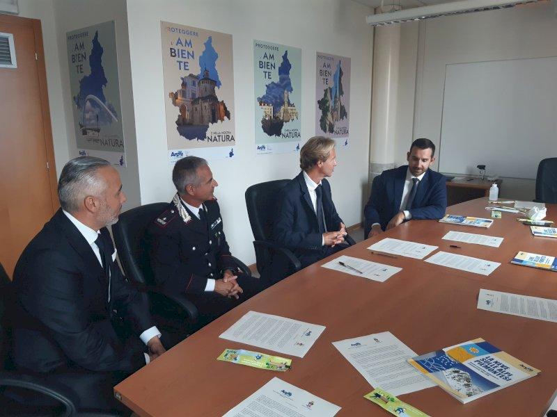 Un accordo di collaborazione tra Arpa Piemonte e Carabinieri Forestali per una montagna più sicura