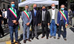 Anche il sindaco di Alba alla cerimonia per Zucco e Usmiani. ''Giornata toccante''