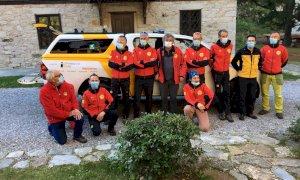 Un nuovo fuoristrada per il Soccorso Alpino e Speleologico Piemontese