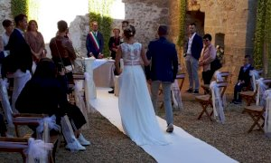 Rifreddo, primo matrimonio civile al monastero di Santa Maria della stella