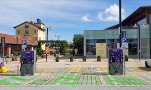 A Mondovicino una nuova area per la ricarica delle auto elettriche