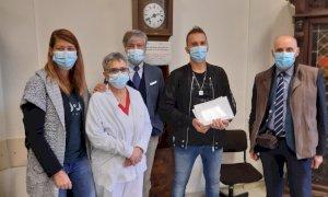 Due tablet donati al reparto di Medicina Interna dell'ospedale di Savigliano