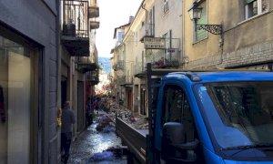 Notte di paura in valle Tanaro: a Bagnasco è crollato il ponte romano (FOTO)