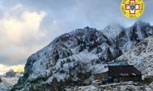 Valle Gesso, sei turisti tedeschi recuperati dall'elicottero del Soccorso Alpino al rifugio Questa