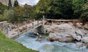 Anche la valle Gesso si lecca le ferite dopo l'alluvione: 'Si rischiano danni economici incalcolabili'