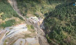 Crollati anche i due ponti all'uscita del Tenda, i danni sono inquantificabili
