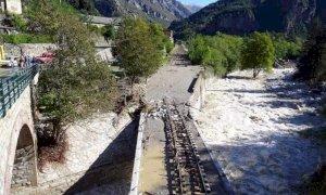 Due mesi per riparare la linea ferroviaria tra Breil e Tenda