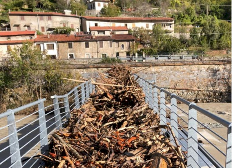 Ormea e Pamparato rivivono l'incubo del 1994: le immagini della devastazione