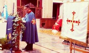 Una delegazione cuneese alla celebrazione eucaristica dell'Ordine Costantiniano di San Giorgio