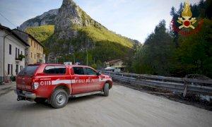 Cento vigili del fuoco al lavoro nelle aree colpite dall'alluvione