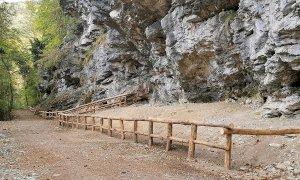 Roaschia, riqualificata l'area delle Grotte del Bandito