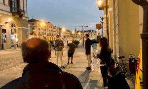 A Cuneo il sit-in pro eutanasia dei Radicali: ''Se un malato decide di morire ha il diritto di farlo''