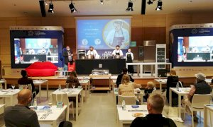 Aperitivi e un workshop con uno chef stellato: il Crudo di Cuneo Dop protagonista alla Fiera del Tartufo