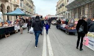 Cuneo: l'aumento di positivi è oltre il 40%, annullato il mercato straordinario di domenica