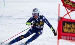 Sci alpino, Marta Bassino in testa dopo la prima manche a Solden