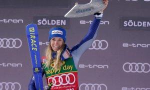 Marta Bassino domina e vince a Solden: si apre con un trionfo la stagione della borgarina