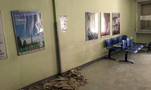 Crolla una parte dei controsoffitti, chiuso il Centro Prelievi di via Carlo Boggio