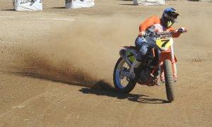 Nel weekend campionato mondiale ed italiano Flat Track a Boves