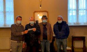 Dopo gli insulti sui social dona mille euro alla casa di Riposo di Scarnafigi