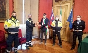 Il ringraziamento del Comune di Fossano alla Protezione civile locale