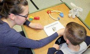 Gli accorgimenti dell'Asl per superare le barriere di comunicazione con i bambini disabili