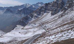 'Salta' il passaggio del Giro, chiude per l'inverno il Colle dell'Agnello