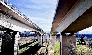 Cuneo, in programma lavori di manutenzione sulle pile del viadotto Sarti
