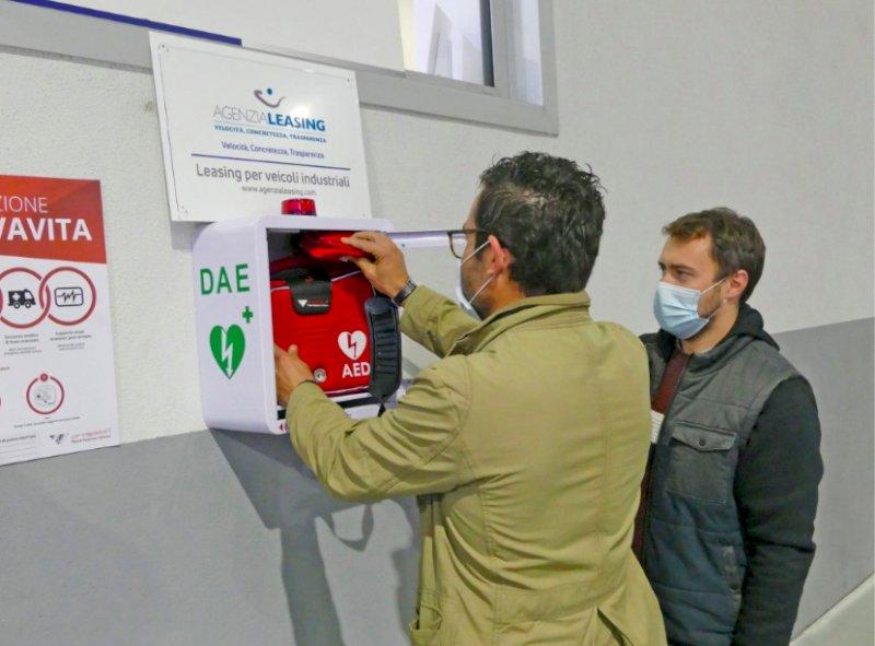 Madonna dell'Olmo, attivato un nuovo defibrillatore